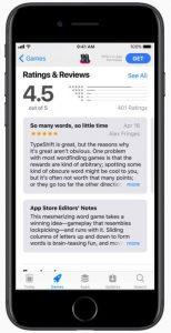 ratings and reviews apple